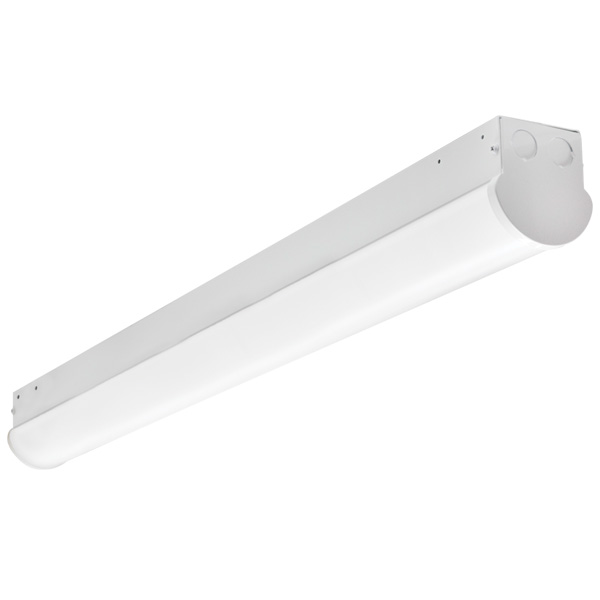 BLCSLED Series 2-8' Covered Strips, Steel, 20-65W, 2432-8645 Lumens