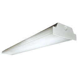 BWALED Series 4' Wrap Luminaire, Steel, 40W, 5240 Lumens