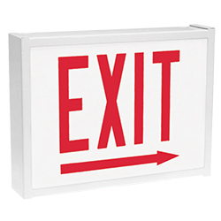 CHEX Series City of Chicago LED Steel Exit Sign