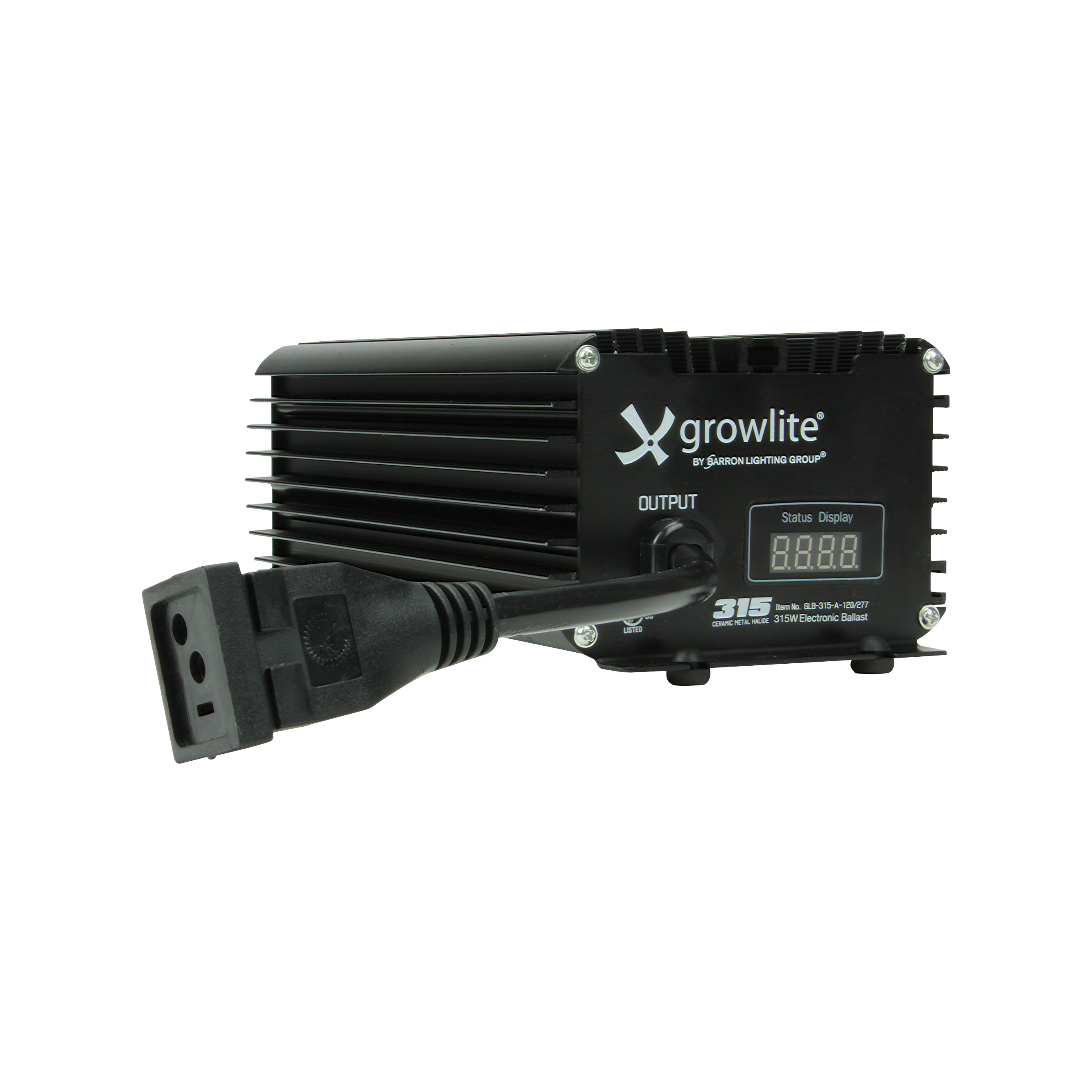 Single or Double-ended Enabled 120VAC~277VAC Switchable Slim Ballast MH or HPS lamps 400W, 600W and 1000W