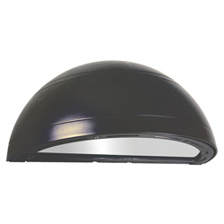 TLED112P Series Quarter Sphere Wall Sconce, 27-43W, 2152-3382 Lumens