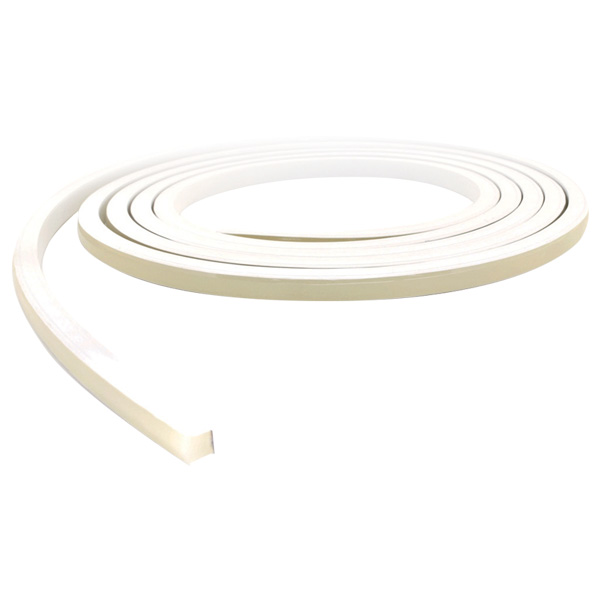 WAVE Series Back to Front Bending Orientation, Wet Location, Single Color LED Flexible Border Tube