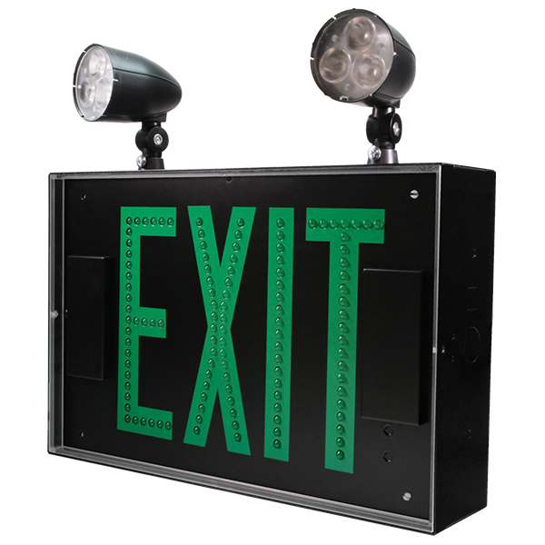 Gle S Green Exit Series Barron Lighting Group