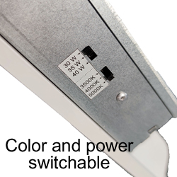 LPA-CP Series Color and Power Switchable LED Flat Panel