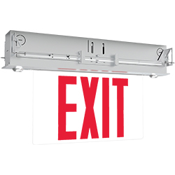 S900C Series LED Edge-lit Combo Exit Sign